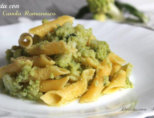 Pasta con Cavolo Romanesco