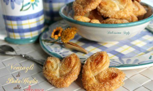 Ventagli di Pasta Sfoglia alle Arance