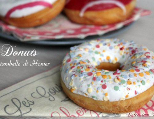 Donuts al forno,le Ciambelle di Homer Simpson