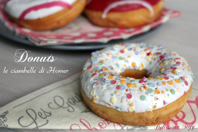 Donuts,ciambelle di Homer
