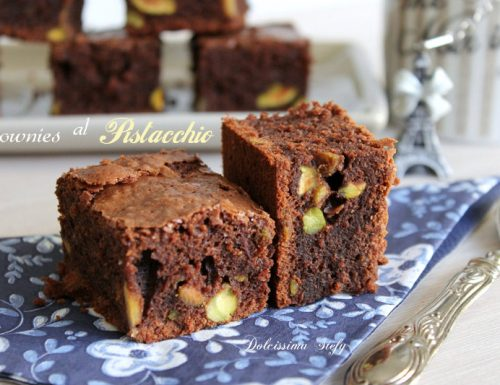Brownies al Pistacchio