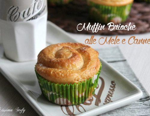 Muffin Brioche alle Mele e Cannella