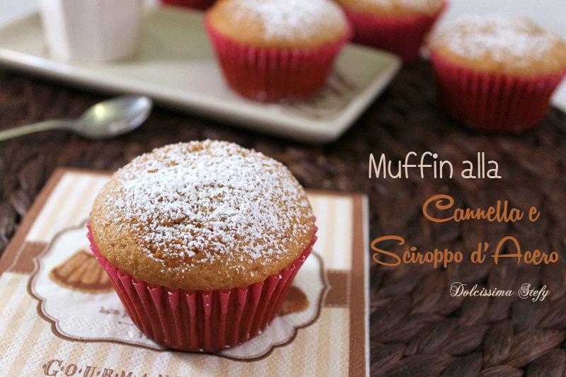 Muffin alla Cannella e Sciroppo d'Acero