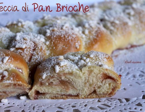Treccia di Pan Brioche con Marmellata,ricetta e tutorial