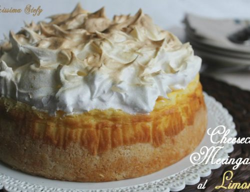 Cheesecake Meringata al Limone