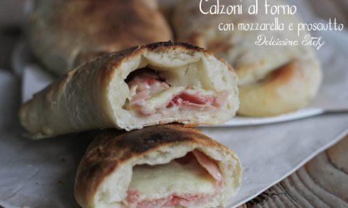 Calzoni al Forno con Mozzarella e Prosciutto cotto