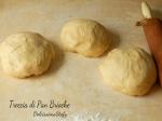 Treccia di pan brioche con marmellata