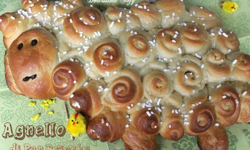 Agnello di Pan Brioche,ricetta e tutorial