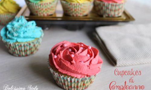 Cupcakes di Compleanno