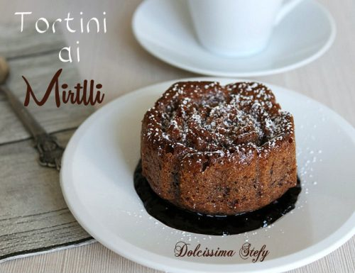 Tortini ai Mirtilli