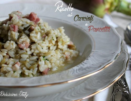 Risotto ai Carciofi e Pancetta