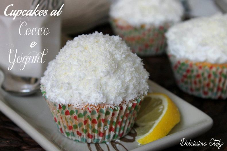 Cupcakes al Cocco e Yogurt