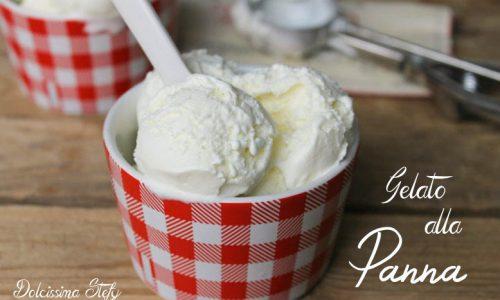Gelato alla Panna,senza gelatiera