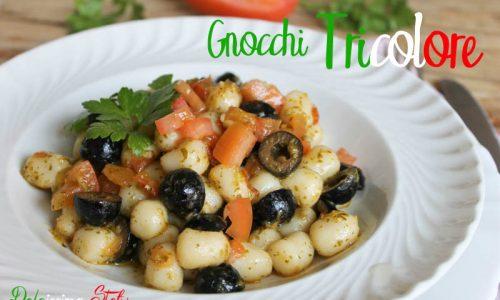 Gnocchi Tricolore,ricetta senza glutine