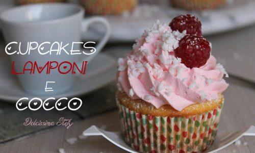 Cupcakes Cocco e Lamponi