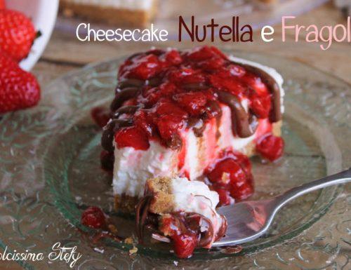 Cheesecake Nutella e Fragole