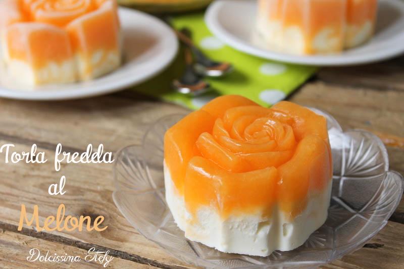 Torta fredda al Melone