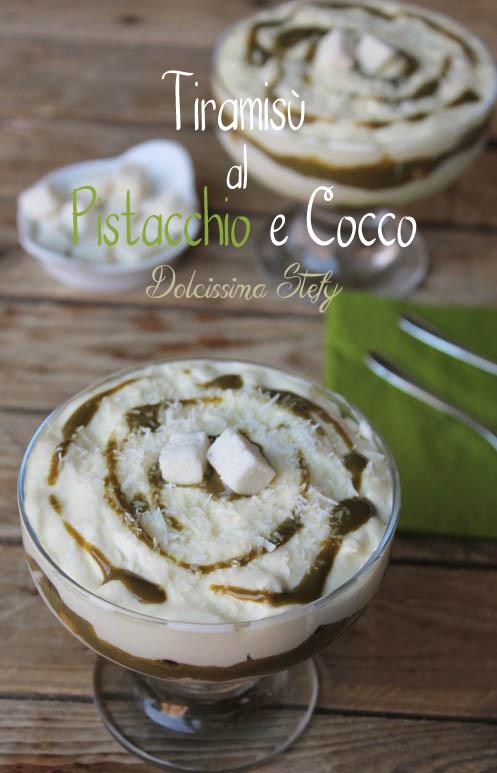 Tiramisù al Pistacchio e Cocco