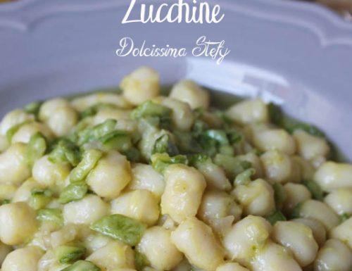 Gnocchi Lardo e Zucchine,ricetta senza glutine