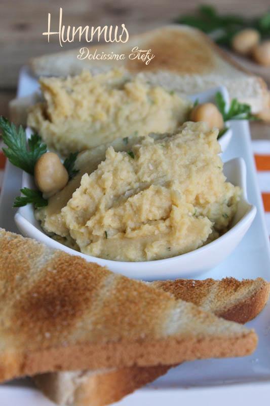 Hummus,ricetta vegetariana