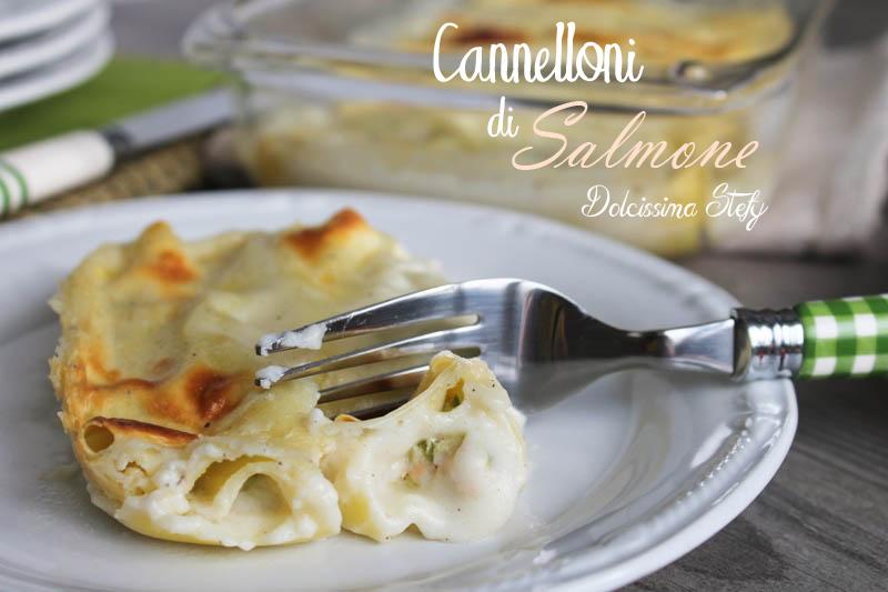 Cannelloni di Salmone e Ricotta