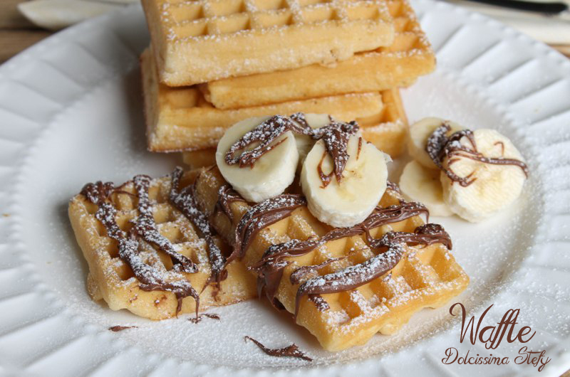 Waffle,ricetta base