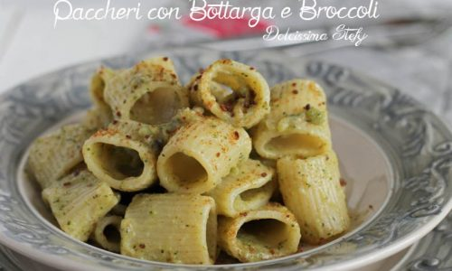 Pasta con Bottarga e Broccoli