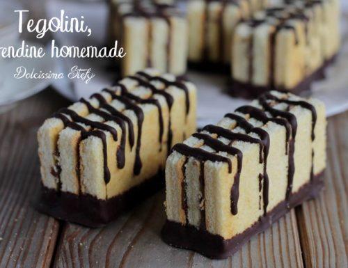Tegolini ricetta Homemade