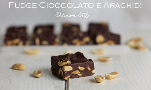 Fudge Cioccolato e Arachidi