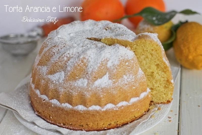 Torta Arancia e Limone
