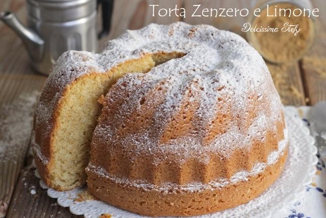 Torta allo Zenzero e Limone, ricetta - Dolcissima Stefy