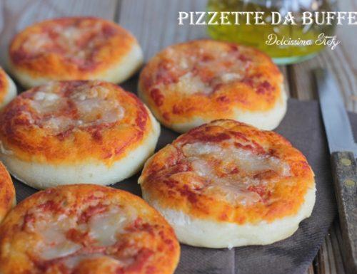 Pizzette da Buffet fatte in casa