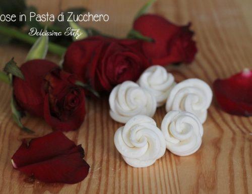 Rose in pasta di zucchero tutorial, secondo metodo