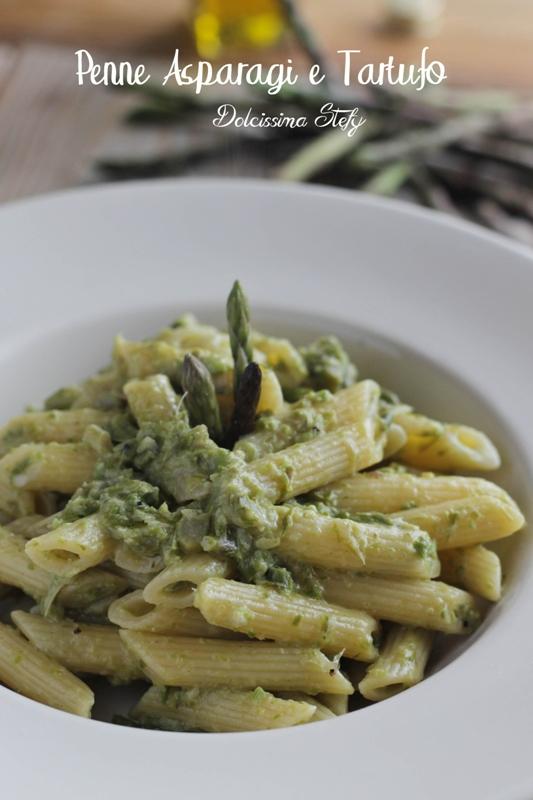 Pasta Asparagi e tartufo