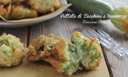 Frittelle di Zucchine e Scamorza
