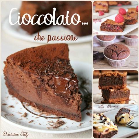 Le ricette al Cioccolato di Dolcissima Stefy