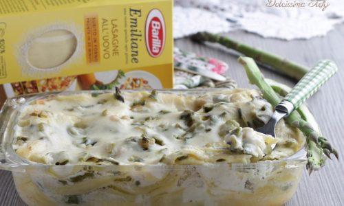 Lasagne Asparagi e Gamberetti