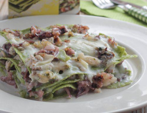 Lasagne verdi di Pesce