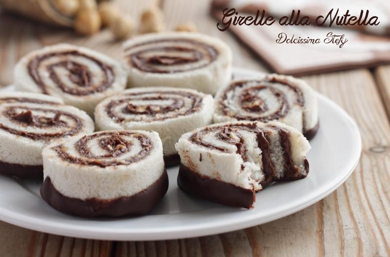 Girelle alla Nutella senza cottura