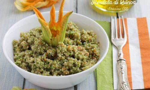 Insalata di Quinoa e Fiori di Zucca