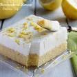 Brownies Cheesecake al Limone