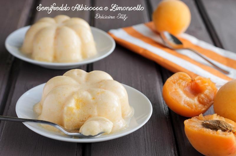 Semifreddo Albicocca e Limoncello