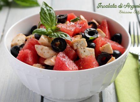 Insalata di Anguria, Mozzarella e Olive