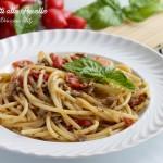 Spaghetti alle Arselle