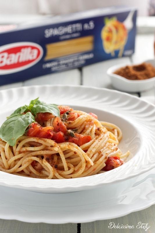 Spaghetti Pomodorini e Bottarga