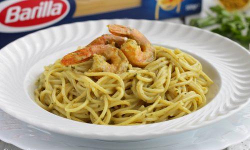 Spaghettini ai Gamberi e Curry