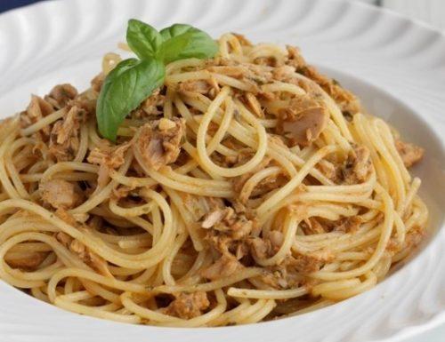 Spaghettini al Tonno e Paprika