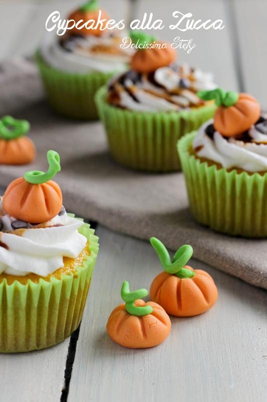 Cupcakes alla Zucca e Caramello