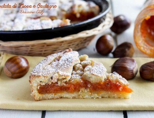 Crostata di Zucca e Castagne