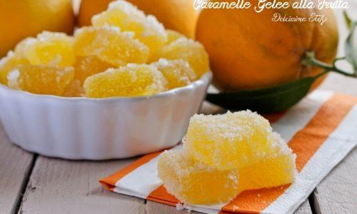 Caramelle Gelèe alla Frutta fatte in casa